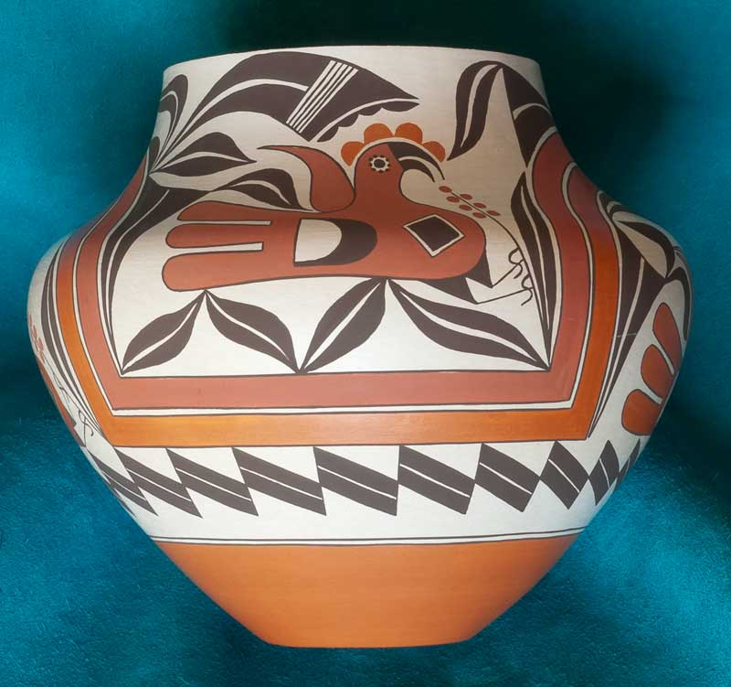 Barbara and Joseph Cerno Acoma Pottery